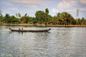 Backwaters of Alappuzha