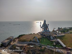 Breathtaking view of Murudeshwar!!