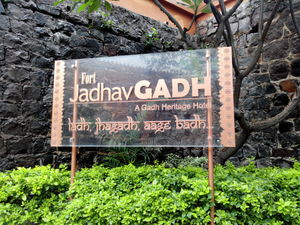 Visit to Fort Jadhavgadh - A resort on the fort