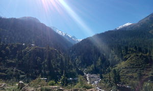 My first trek- A hippie one at Kheerganga