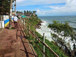 Varkala like no other coast in India!!