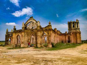 Shettihalli Church is located 200km away from Bangalore City, on the way to sakleshpura