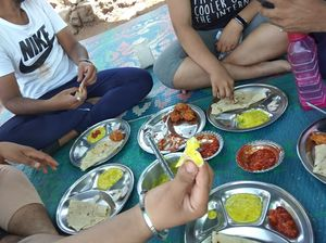 Jhunka-bhakri - taste of Sahyadri #iwillgoanywhereforfood