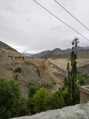 Aptly called the moonscape of Leh !! Felt like I got transported to a different world :)