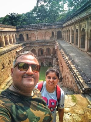 Delhi has so so much to offer to those who seek the unusual..#selfiewithaview #tripotocommunity