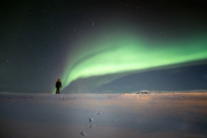 First encounter with aurora. #BestTravelPictures @tripotocommunity