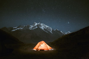 Camping at Bali Pass, Uttarakhand. #BestTravelPictures @tripotocommunity