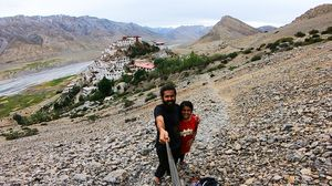 Kee Monastery (Gompa)! #SelfieWithAView #TripotoCommunity