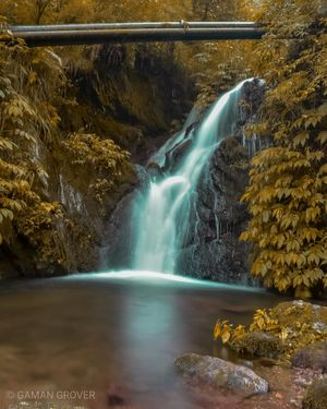 Waterfall in barot valley