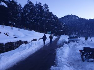 Chamba - Khajjiyar in winters.