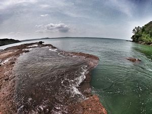 Nestled away in a village, Santrem is the most unknown and smallest beach in Goa
