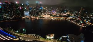 Skyline from Marina bay sands took my breath away!!!!