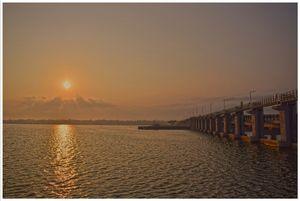 A visit to Thaneermukkom & Kumarakom during Sunrise!!! ⛅