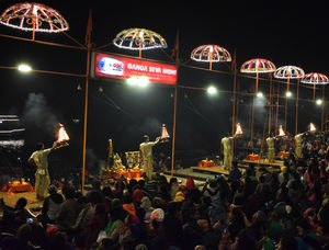 The oldest inhabited city of the world- Varanasi a.k.a Banaras and Kashi.