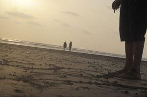 Watching the sun go by : Revdanda Beach