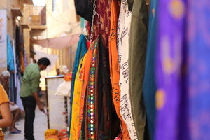 The Colorfull Streets of Jaisalmer