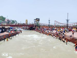 Backpacking to HARIDWAR for one day!!!