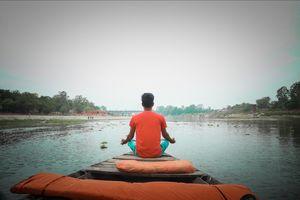 Gomti river Lucknow