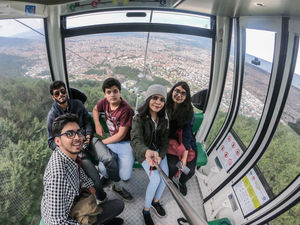 Bursa from the sky, cool kids flying high. #SelfieWithAView #TripotoCommunity