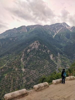 Urni Beautiful village in the lap of kinnaur mountains