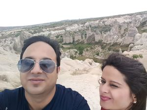 #SelfieWithAView and #TripotoCommunity welcome to Cappadocia
