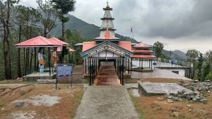 Shree jakhani mata temple~palampur~