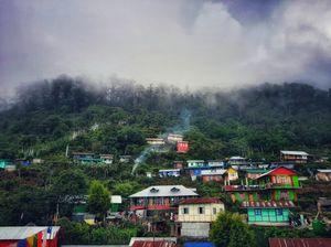 Monsoon at Eche gaon