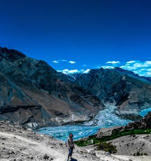 Hidden High in the Himalayas, Spiti Valley #colourblue