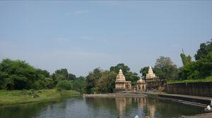 Krishna ghat - a popular bollywood location