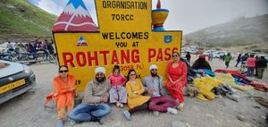 Rohtang pass family trip