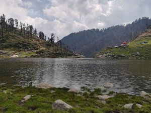 The art of budget traveling- Kareri Lake and Snowline