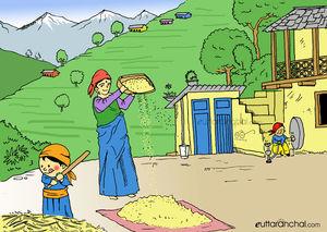 My solo trip to Chopta –Tungnath: Nanda Doodles