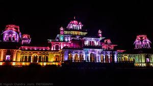Albert hall museum jaipur night shot.....#mobilephotograhy