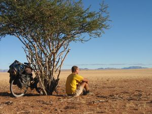 My Bicycle trip across Namibia