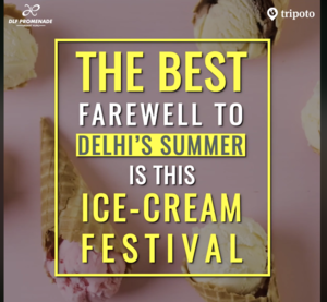 Bid Farewell To Delhi's Summer With This Ice Cream Festival