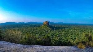 The Lion Rock in Sigiriya, Sri Lanka
