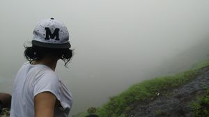 Getting lost in the mist to find myself. ♥️ #SelfieWithAView #TripotoCommunity