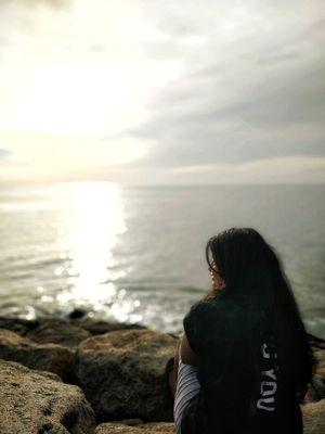 Sunrise point- kanyakumari