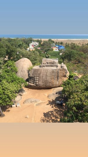 Mahabalipuram Ancient city and UNESCO World Heritage Tamil Nadu.