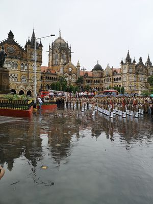 Independence Day Parade #mumbairains