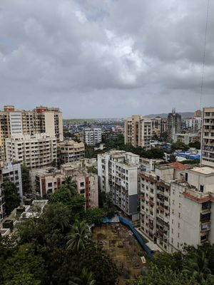 Monsoon in Mumbai (heaviest rainfall region)