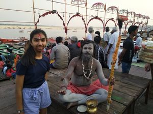 Rang Barse in Varanasi