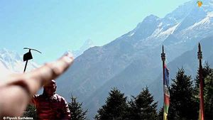 Ama Dablam Base camp - Mount Everest Base camp trek - Day 5