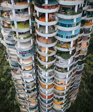 A building at Guizhou in China