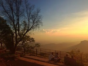 Awesome Nature Views of Sunset-Point at Pachmarhi Madhya Pradesh