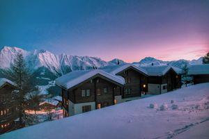 Hiking in the Winter Wonderland Switzerland