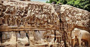 Rock art and mahabalipuram.Start from chennai around 4:00am witness sunrise & visit rock temple ;)