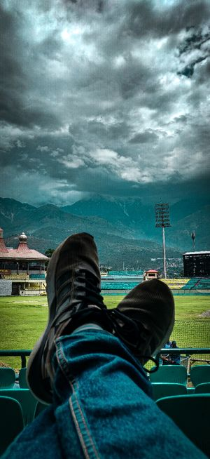 Himachal stadium #colorgreen