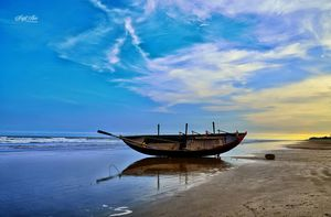 Time To Rest - Lal Kakra Beach