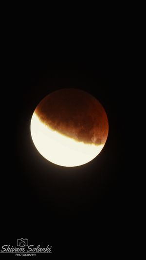17-07-2019 2:26 am Partial Lunar Eclipse Indore Madhya Pradesh India